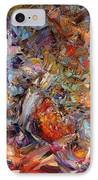 Paint Number 43a IPhone Case by James W Johnson