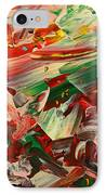 Paint Number 48 IPhone Case by James W Johnson