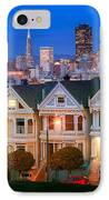 Painted Ladies IPhone Case by Inge Johnsson