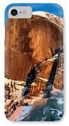 Painting Half Dome Yosemite N P IPhone Case