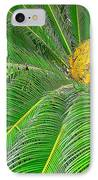 Palm Tree With Blossom IPhone Case