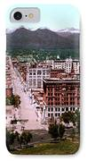 Panorama Of Denver IPhone Case by Georgia Fowler