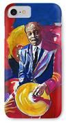 Papa Jo Jones  IPhone Case by David Lloyd Glover