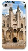 Papal Castle In Avignon IPhone Case by Inge Johnsson