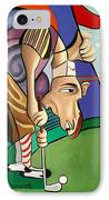 Par For The Course IPhone Case by Anthony Falbo