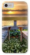 Paradise IPhone Case by Debra and Dave Vanderlaan