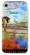 Paradise Sunset IPhone Case