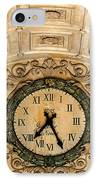 Paris Clocks 2 IPhone Case by Andrew Fare