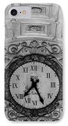 Paris Clocks 3 IPhone Case by Andrew Fare