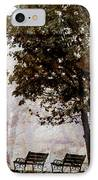 Park Benches IPhone Case