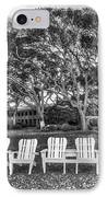 Park Under The Oaks IPhone Case by Debra and Dave Vanderlaan