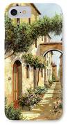 Passando Sotto L'arco IPhone Case by Guido Borelli