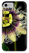 Passion Flower IPhone Case by James Temple