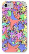 Pastel Stars IPhone Case by Gregory Scott