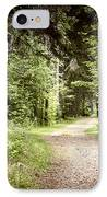 Path In Green Forest IPhone Case by Elena Elisseeva