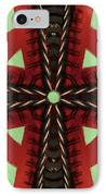 Pathway To Knowledge IPhone Case by Jeff Kolker