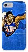 Patrick Ewing IPhone Case by Florian Rodarte