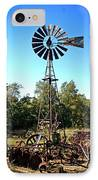Patterson Windmill IPhone Case by Marty Koch