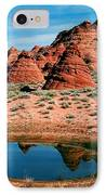 Paw Hole Reflections IPhone Case by Mike  Dawson