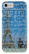 Peace Memorial Paris IPhone Case by Brian Jannsen