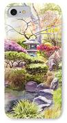 Peaceful Garden IPhone Case