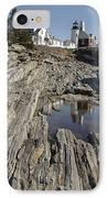 Pemaquid Point Light - Bristol Maine IPhone Case