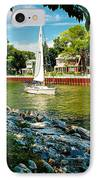 Pentwater Channel Michigan IPhone Case