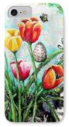Peters Easter Garden IPhone Case by Shana Rowe Jackson