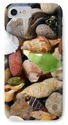 Petoskey Stones L IPhone Case by Michelle Calkins
