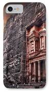 Petra The Treasury IPhone Case by Dan Yeger