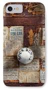 Pharmacy - Signs Of The Time  IPhone Case by Mike Savad