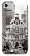 Philadelphia City Hall IPhone Case by Olivier Le Queinec