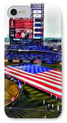 Phillies American IPhone Case by Alice Gipson