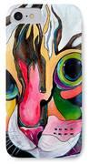 Phoebe Blu IPhone Case by Patti Schermerhorn