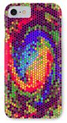 Phone Case Art Colorful Intricate Abstract Geometric Designs By Carole Spandau 129 Cbs Art Exclusive IPhone Case by Carole Spandau