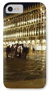Piazza San Marco IPhone Case by Ellen Henneke
