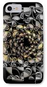 Pictorial Confusion And Diffusion IPhone Case by Elizabeth McTaggart
