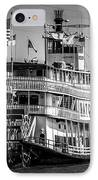 Picture Of Natchez Steamboat In New Orleans IPhone Case