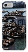 Pier 39 San Francisco Bay IPhone Case