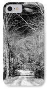 Pine Barrens Path IPhone Case by John Rizzuto