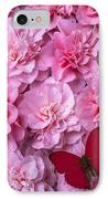 Pink Camilla's And Red Butterfly IPhone Case