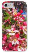 Pink Magnolia 2 IPhone Case by Joann Vitali