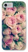 Pink Rosebuds Old Photo IPhone Case