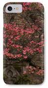 Pink Spring - Dogwood Filigree And Lace IPhone Case by Georgia Mizuleva