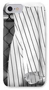 Pinstripes IPhone Case by John Rizzuto