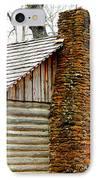 Pioneer Log Cabin Chimney IPhone Case