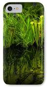 Pitcher Plant Paradise IPhone Case by Mike Nellums