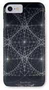 Plancks Blackhole IPhone Case by Jason Padgett