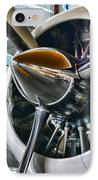 Plane First Class IPhone Case by Paul Ward