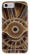 Plane Wooden Prop IPhone Case by Paul Ward